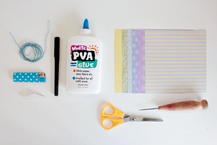 materiales para hacer tarjetas