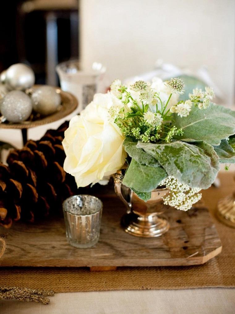 centro mesa boda rústica
