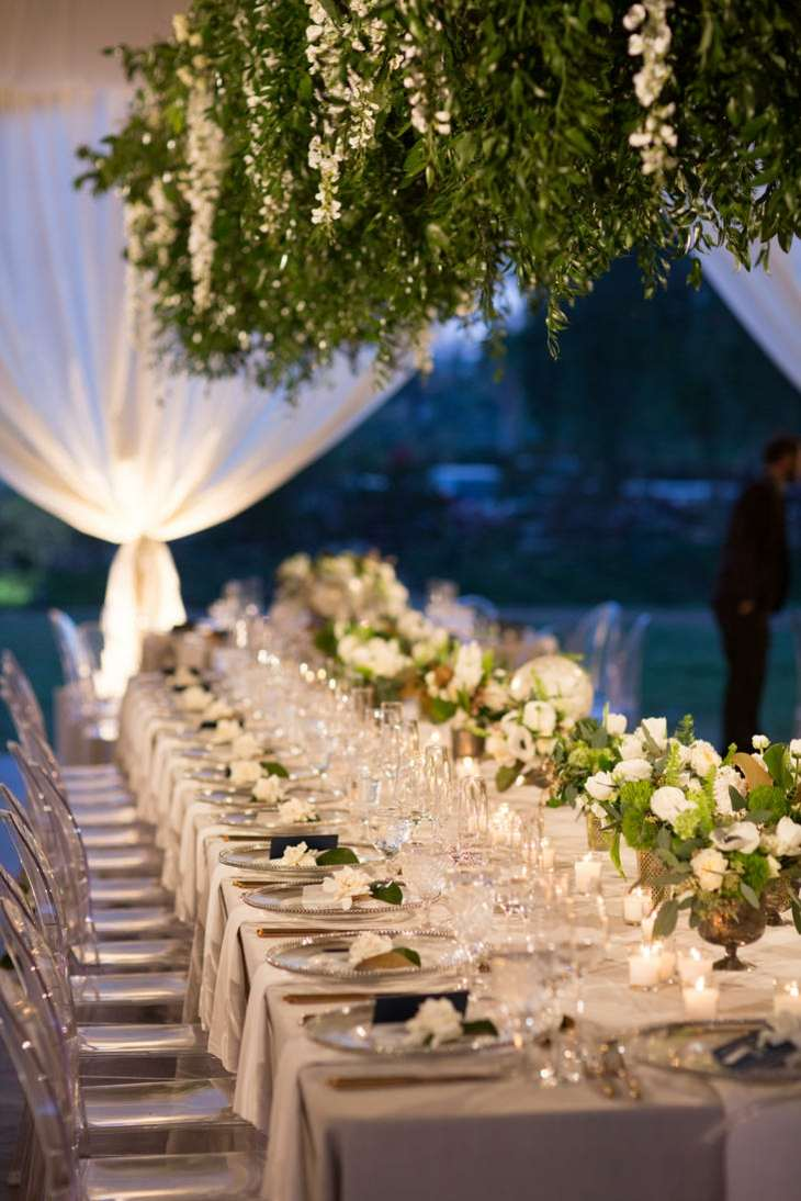 Ideas originales para bodas y consejos sobre el estilo for Camino mesa moderno