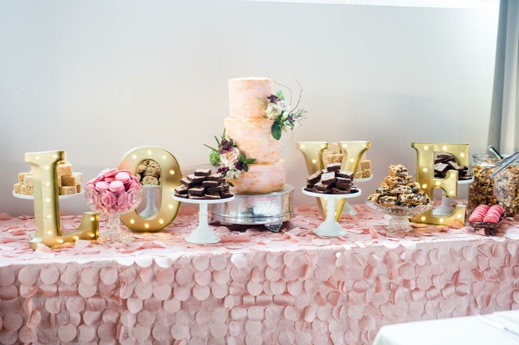 ideas originales para bodas mesa dulces ideas