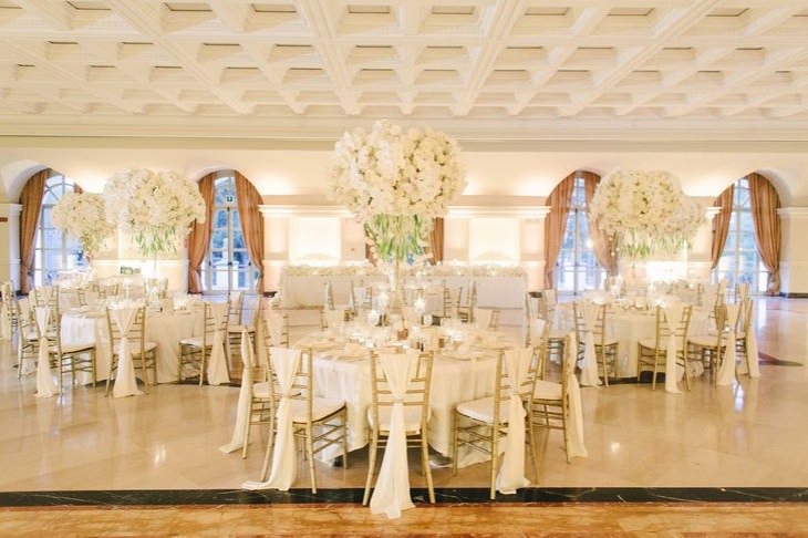 ideas originales para bodas sala recepcion diseno moderno