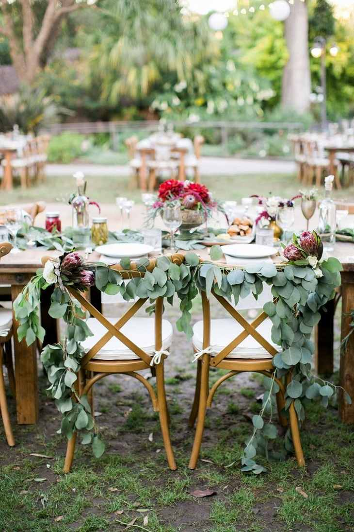 ideas originales para bodas sillas bella decoracion moderno