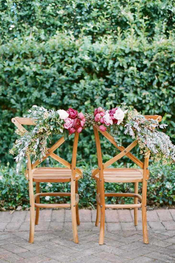ideas originales para bodas sillas decorada originales moderno