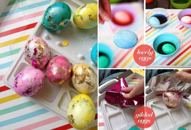 originales huevos de mármol