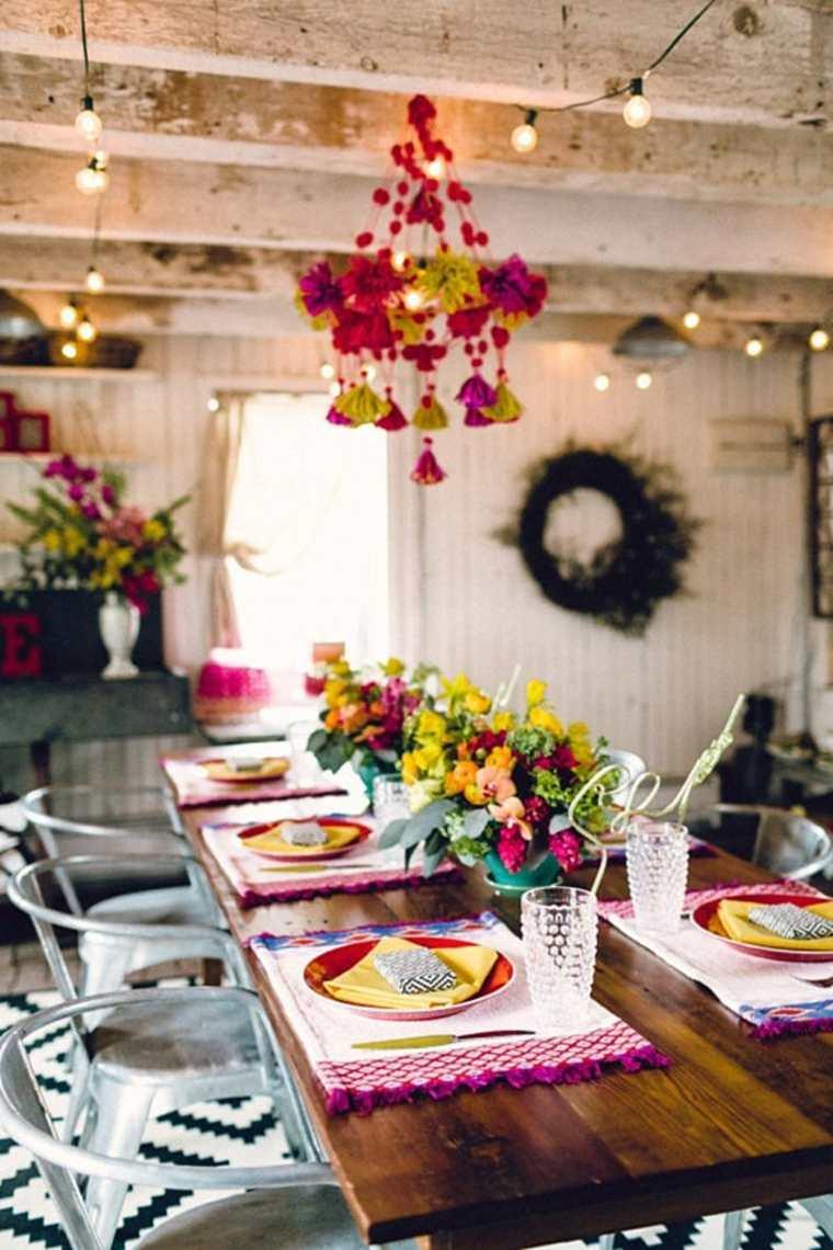 ideas decoración mesa