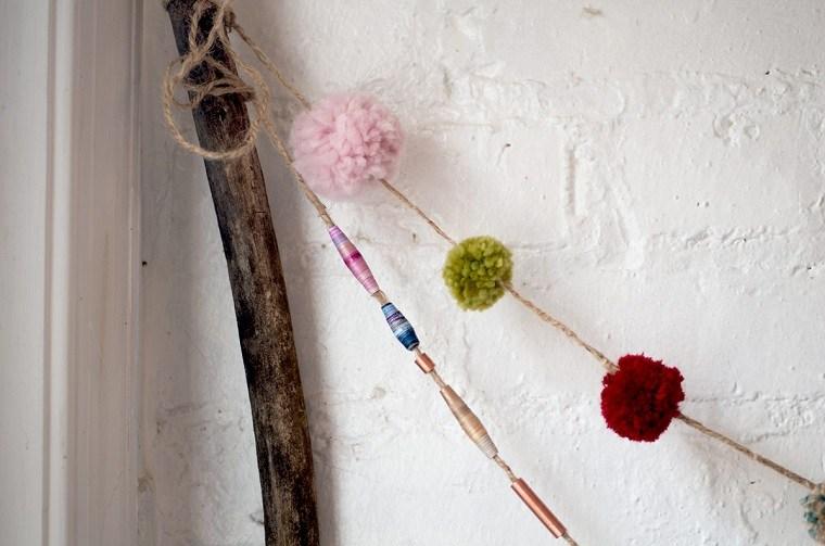originales ideas pompones