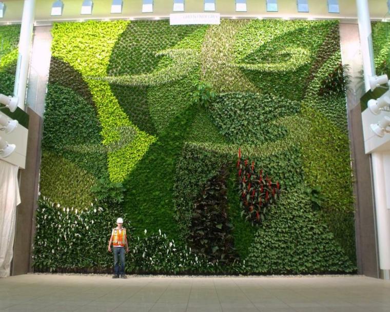 impresionantes dimensiones exteriores geometrico murales