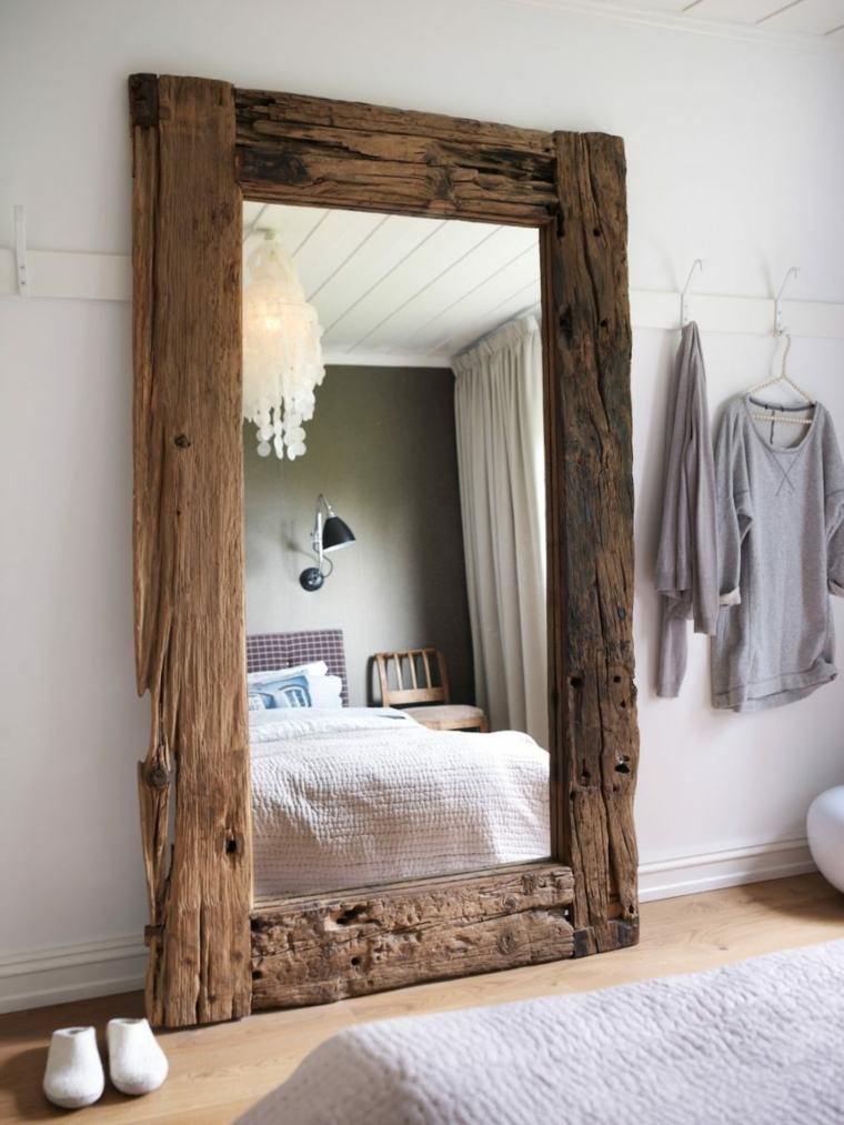 increible estilo marcos madera efectos