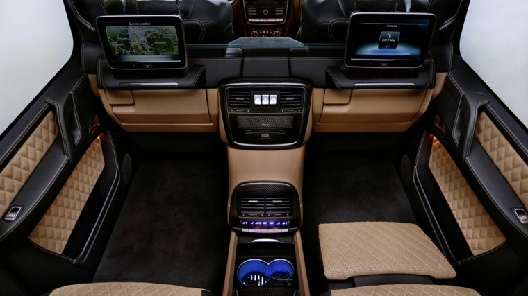 interior confortable especial estilo pasajeros