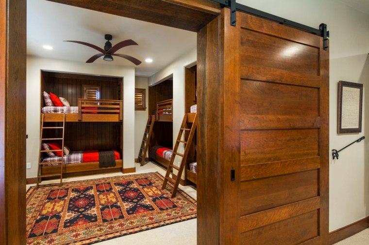 interior habitación puerta corredera