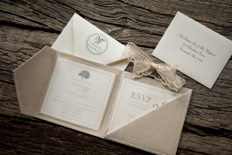 2005d8abaad3f Invitaciones de boda llenas de modernidad y elegancia -