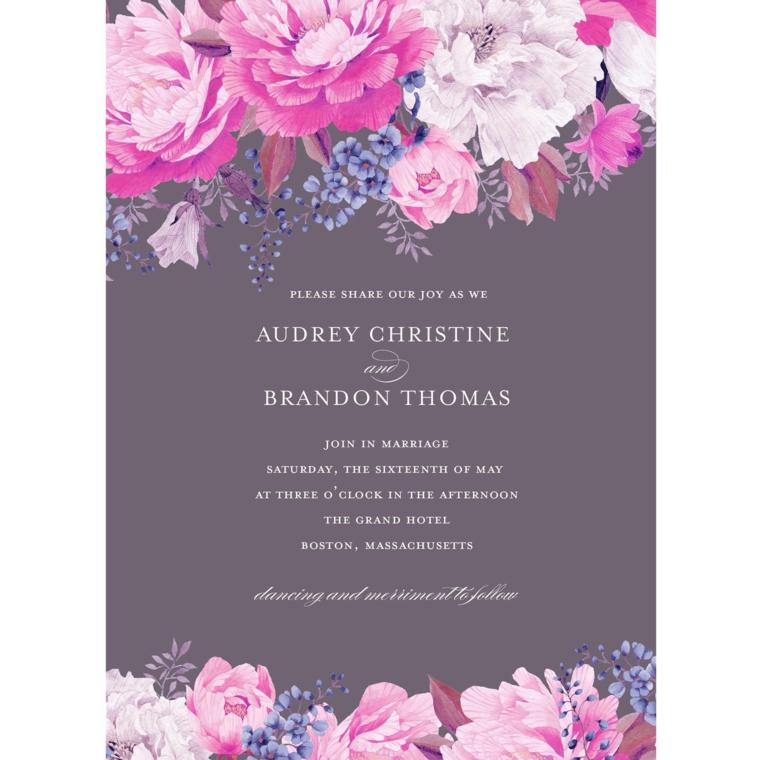 invitaciones de boda elegantes modernas