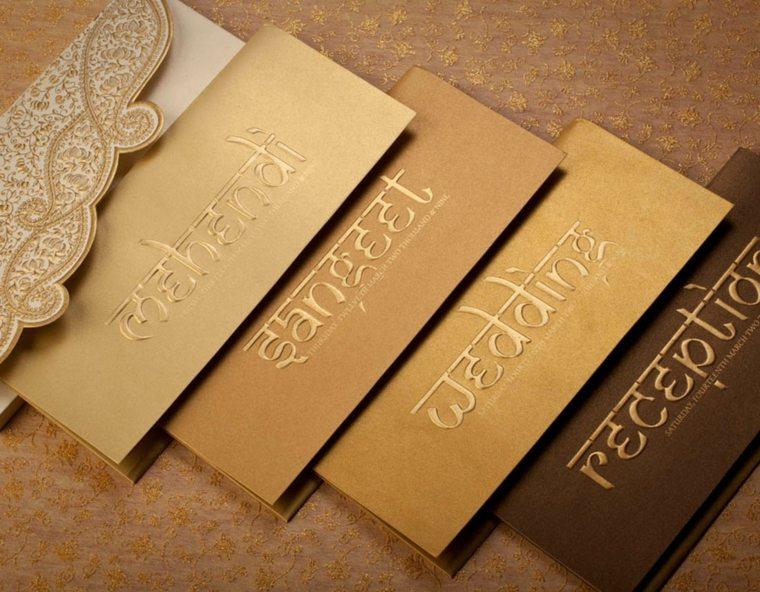 invitaciones de boda letras