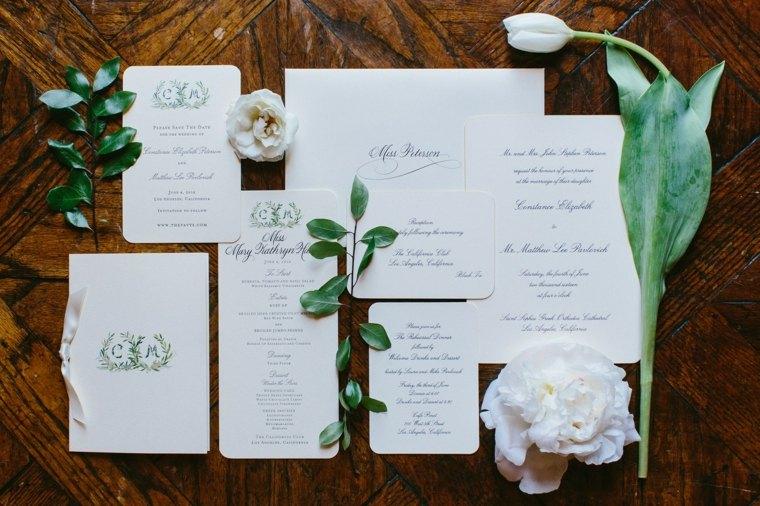 invitaciones de boda originales diseno opciones estilo elegante ideas