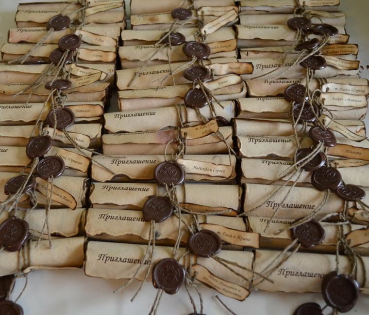 invitaciones de boda originales diseno papiro ideas