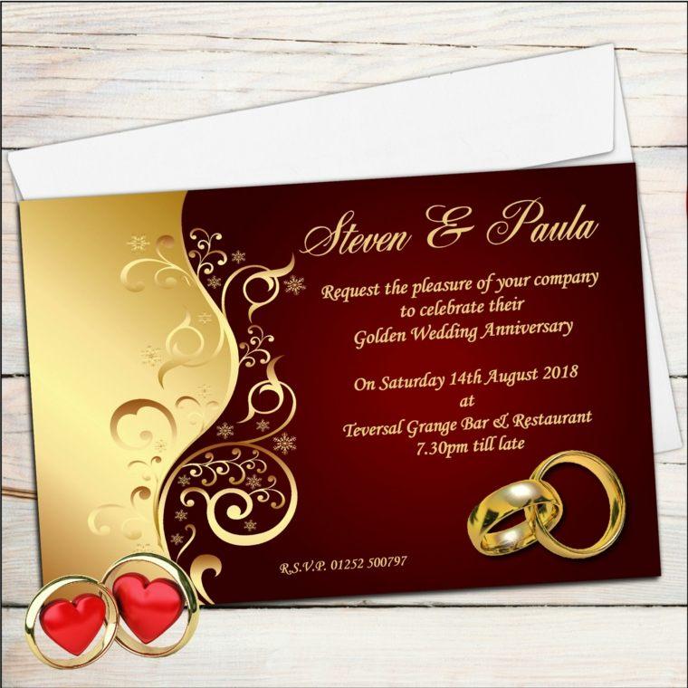 invitaciones de boda originales estilo