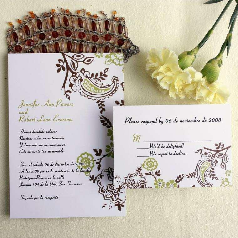 invitaciones de boda originales modernas elegantes
