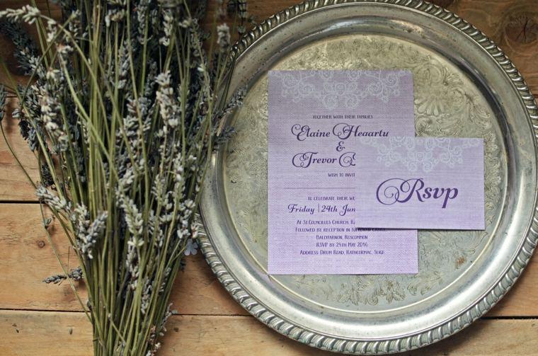 invitaciones de boda vintage decorar retro