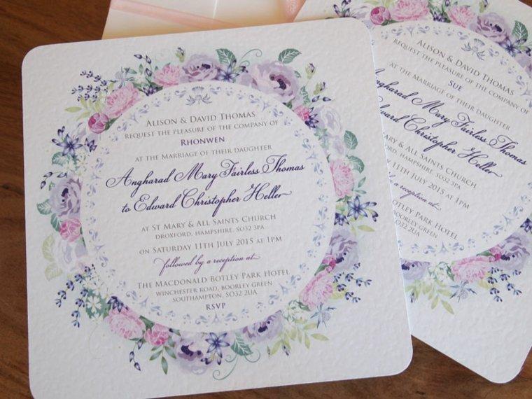 invitaciones vintage boda decorar