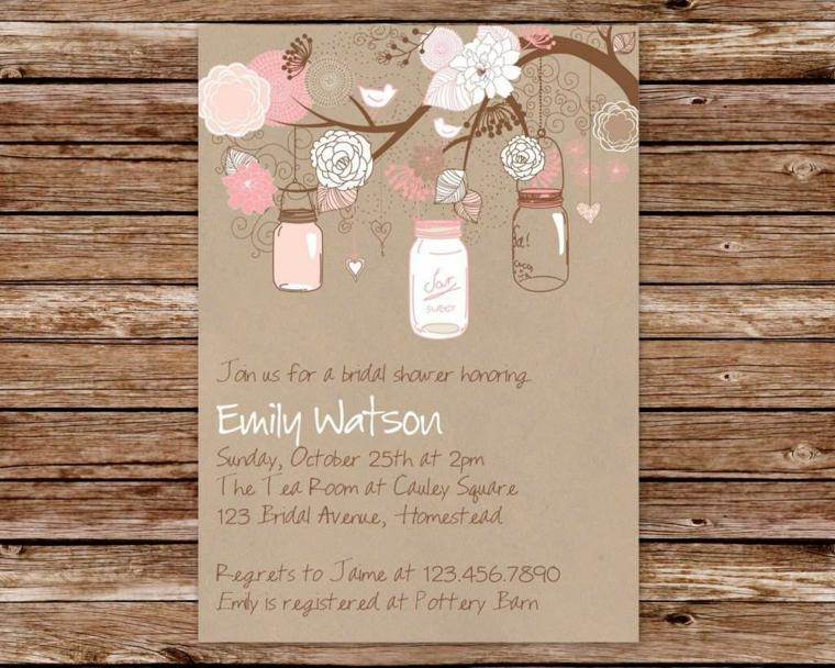 invitaciones vintage boda