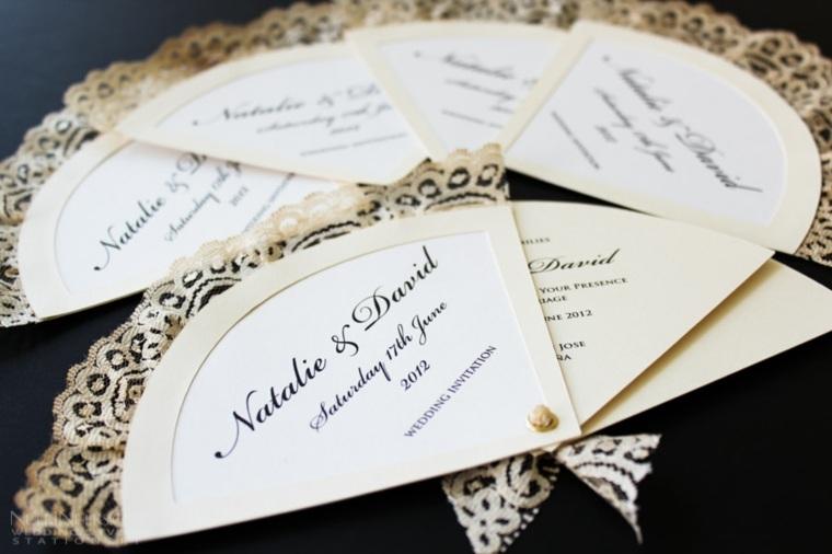 invitaciones vintage para boda