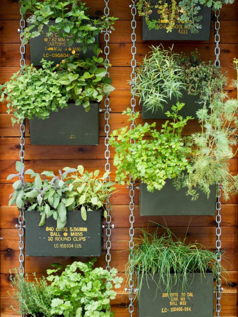 jardin vertical ecicladas cadenas independiente soluciones