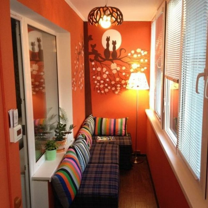 listas cojines muebles calidos paredes gatos