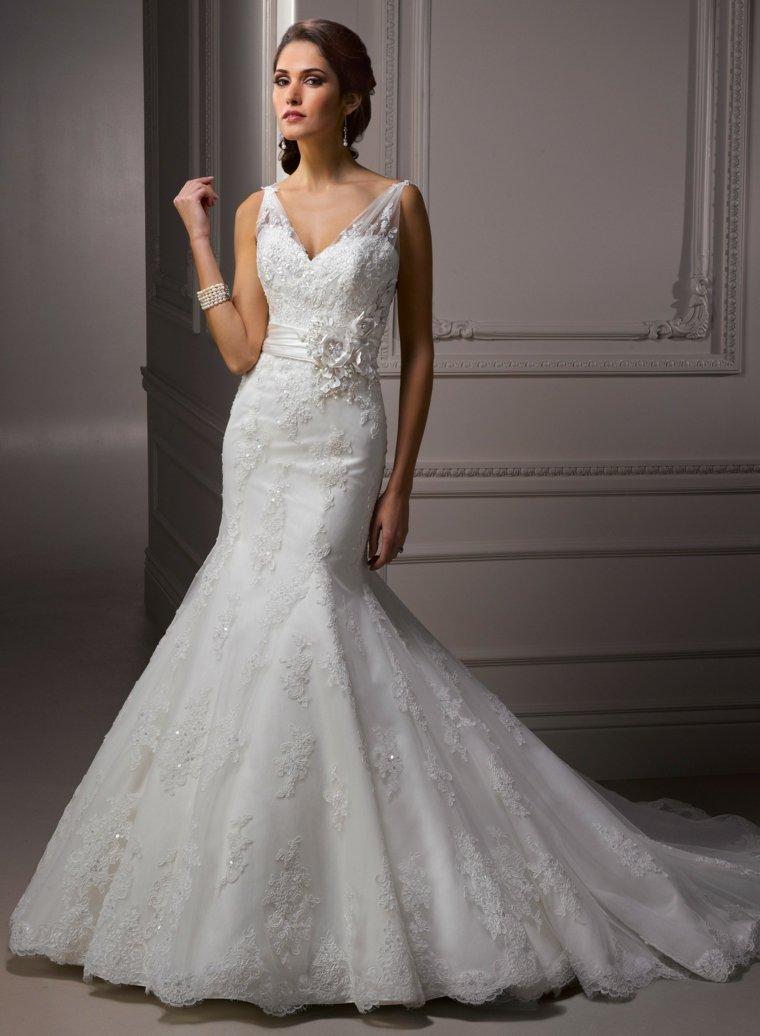 los vestidos de novia modernos