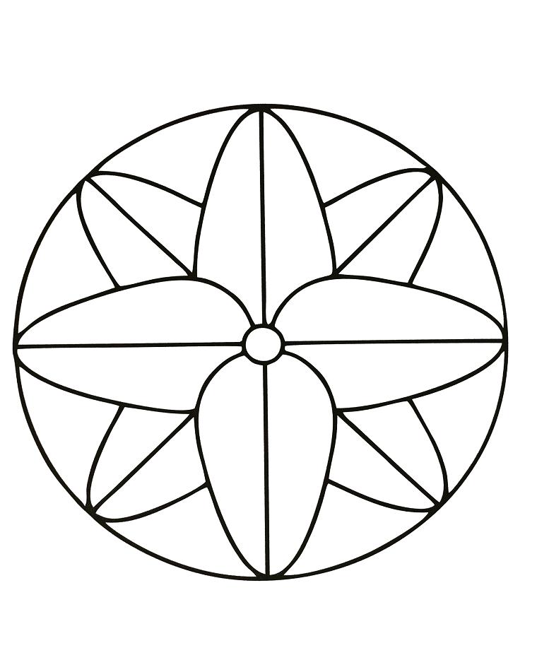 Mandala sencillo