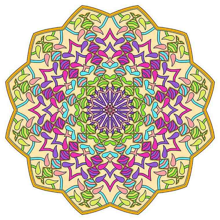 The Worlds Best Mandala Coloring Book A Stress