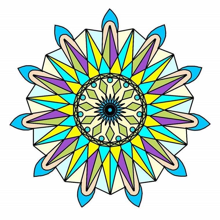 estupendo Mandala cristales
