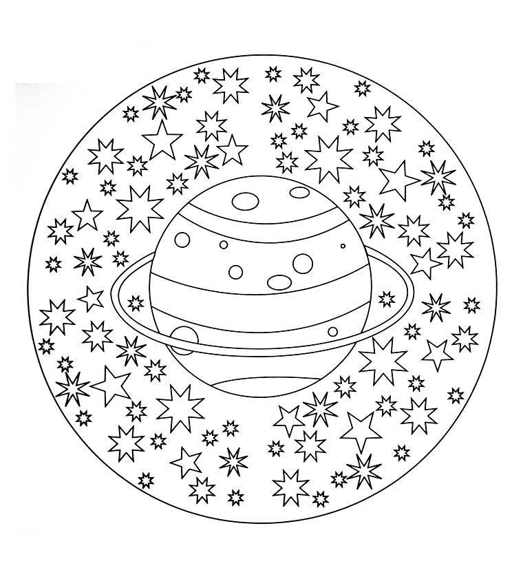 Mandala planeta