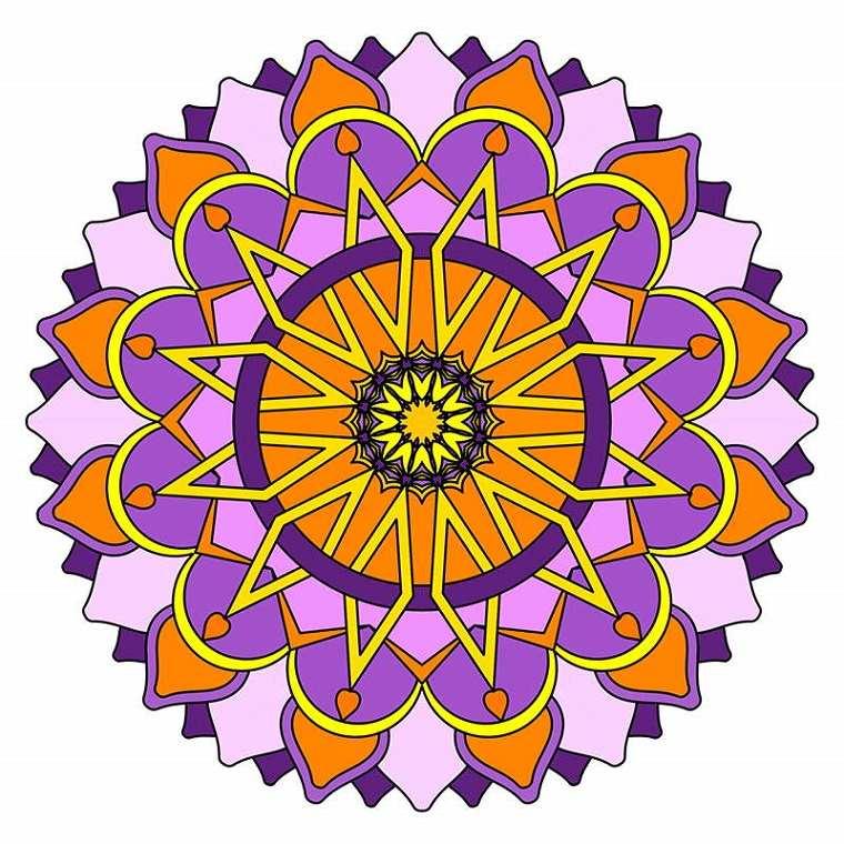 Mandala diseño flor