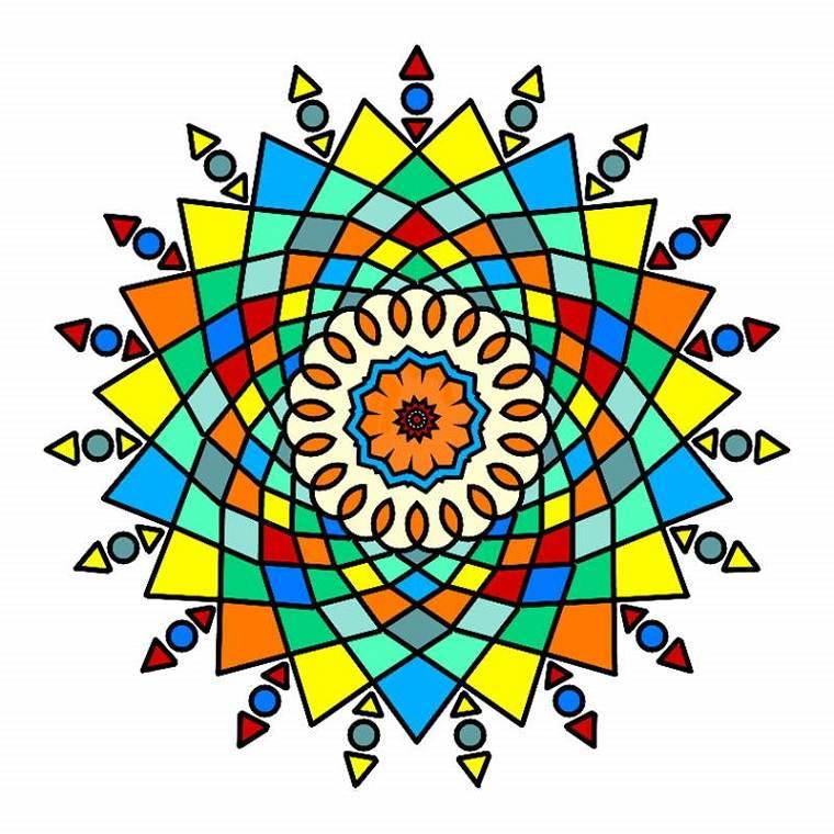 colorear Mandalas para relajarse