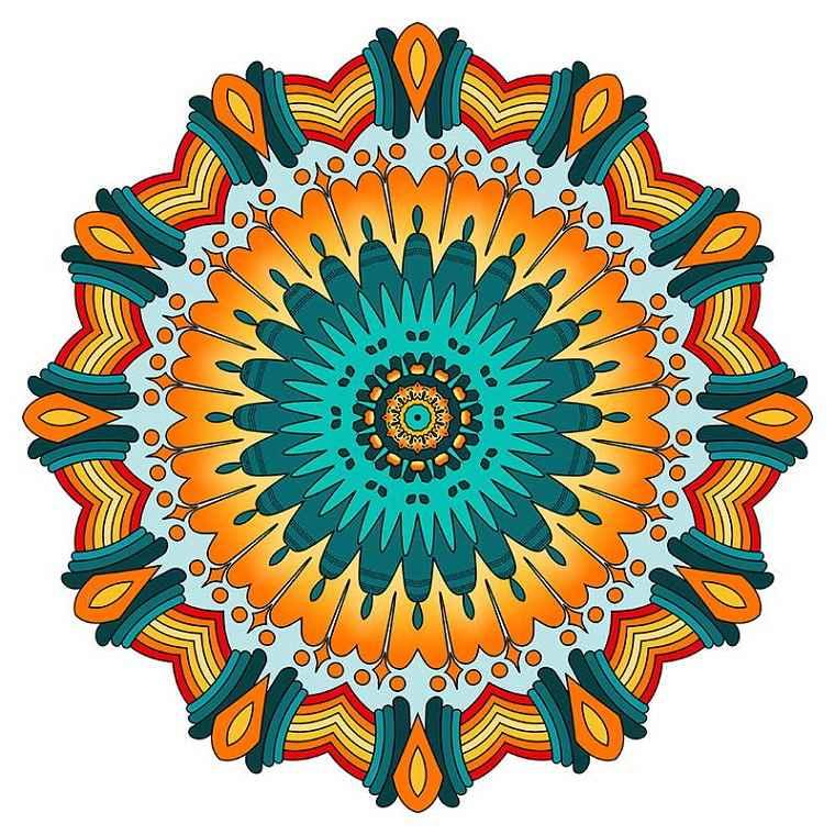 bonito Mandala sol