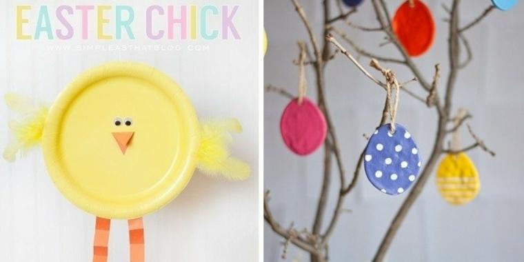 originales adornos Pascua