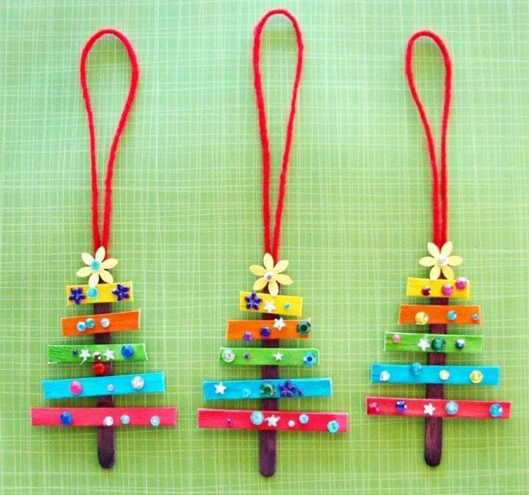 manualidades para niños navidad especiale arboles
