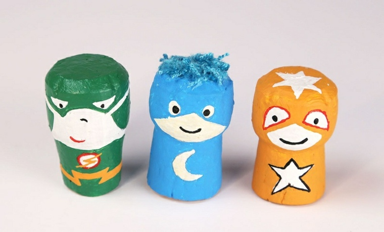 manualidades para niños superheroes conceptos ides