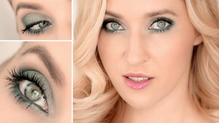 maquillaje de ojos día