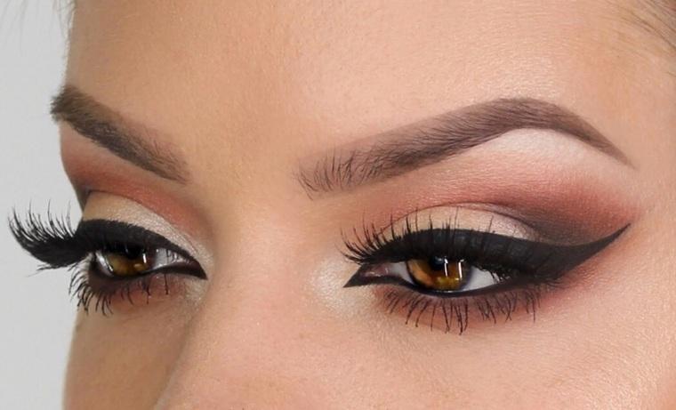 maquillaje de ojos fiestas
