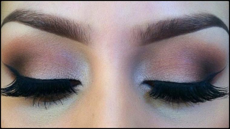maquillaje ojos ahumanods moderno