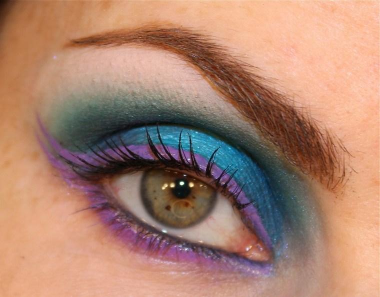 maquillaje ojos chicas interesantes