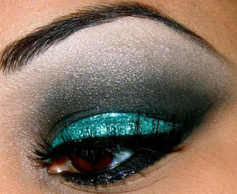 maquillaje ojos chicas modernas