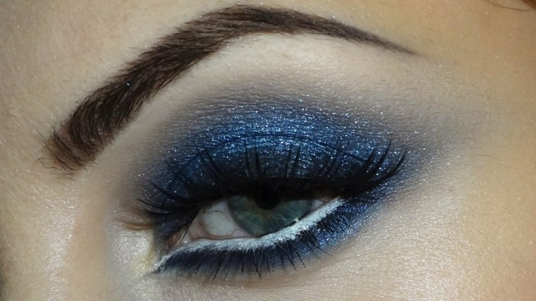 maquillaje ojos eventos fiestas