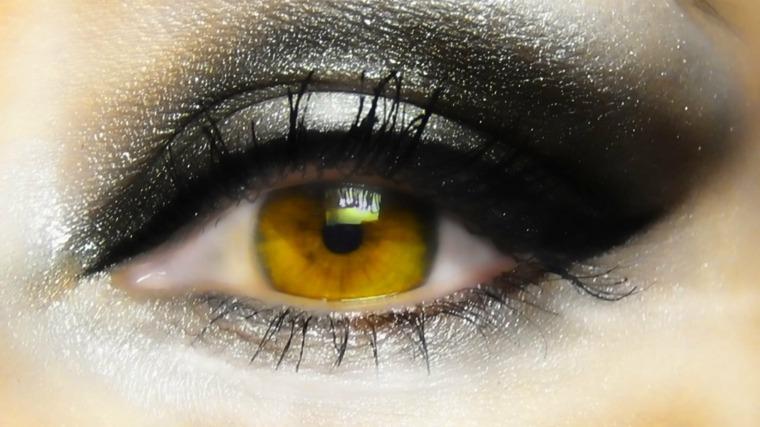 maquillaje ojos eventos