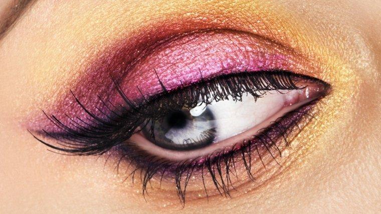 maquillaje ojos interesante