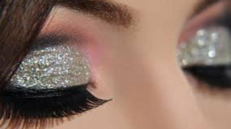 maquillaje ojos marrones fiestas