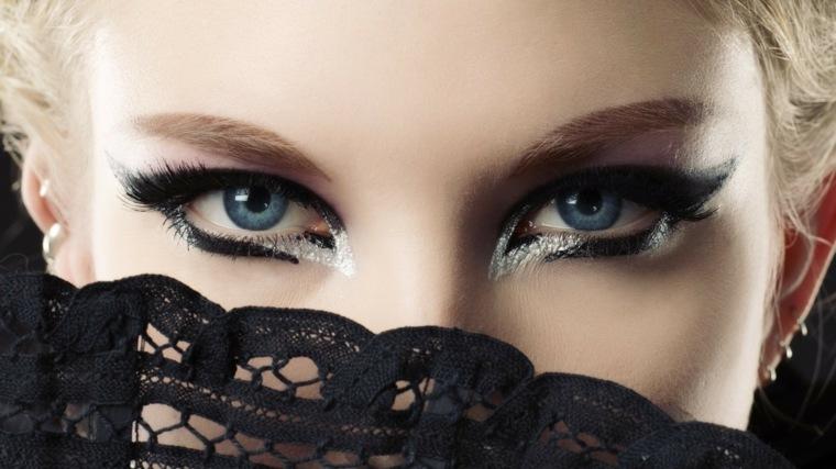 maquillaje ojos moderno