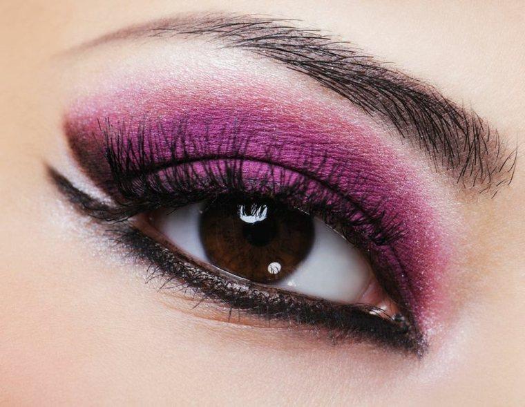 maquillaje ojos mujeres eventos
