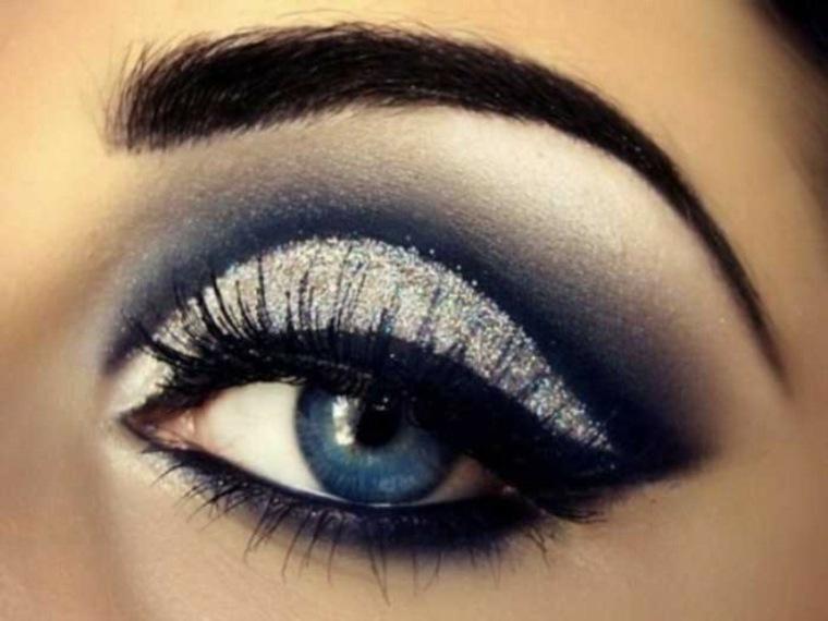 maquillaje ojos mujeres fiestas